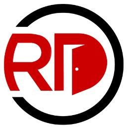 Red Door Real Estate Letter mark logo