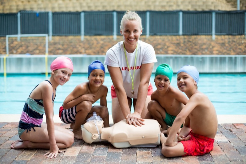 Teaching Kids Swim Safety