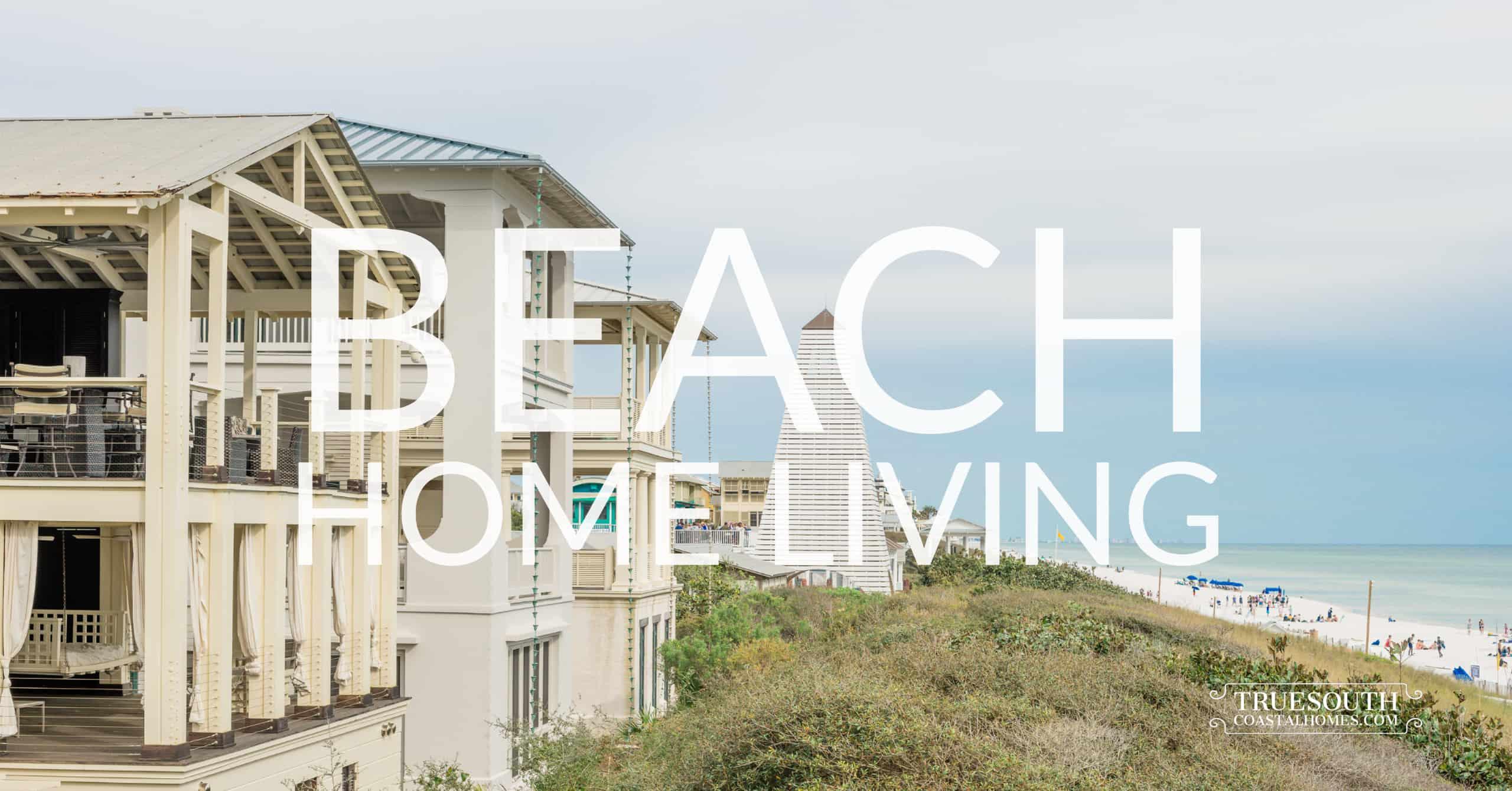 Gulf Front Beach Homes