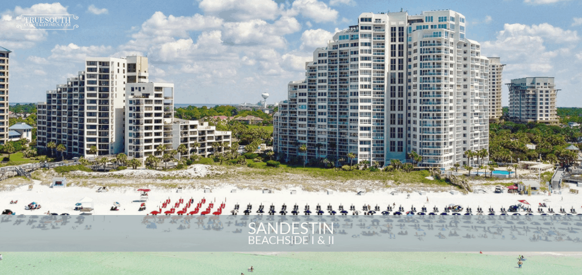 Sandestin Beachside Condos Aerial View