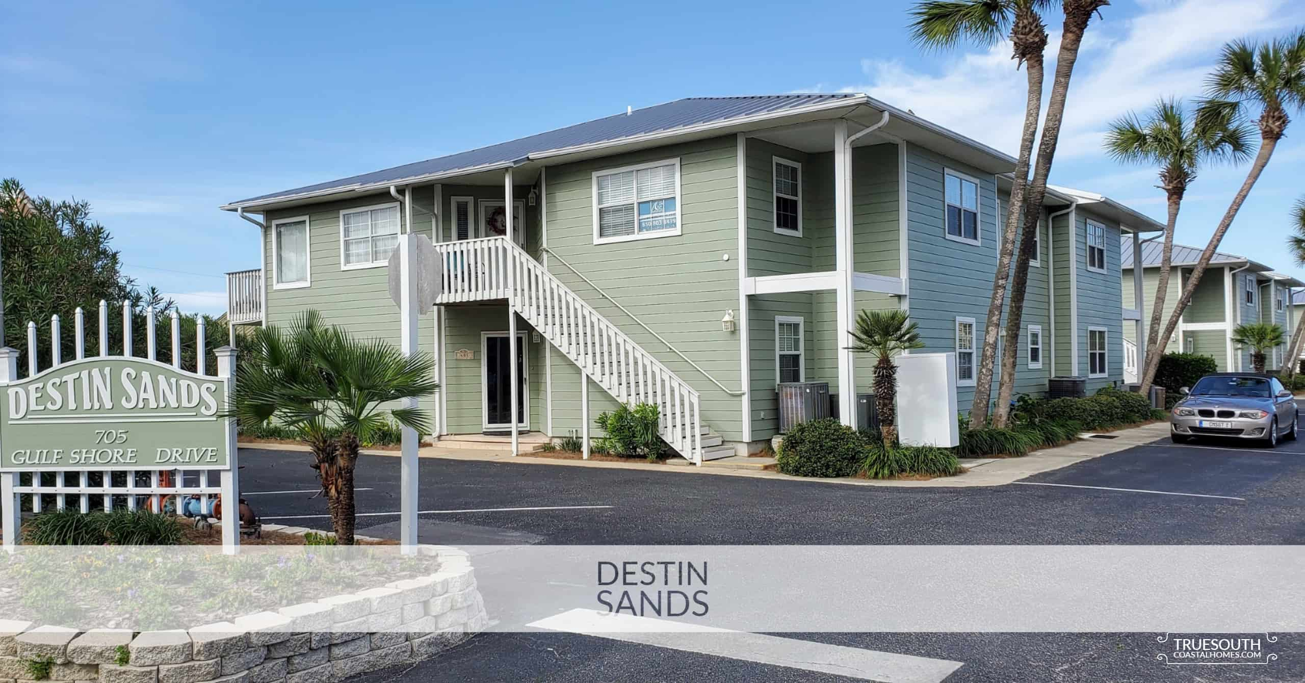Destin Sands Entrace