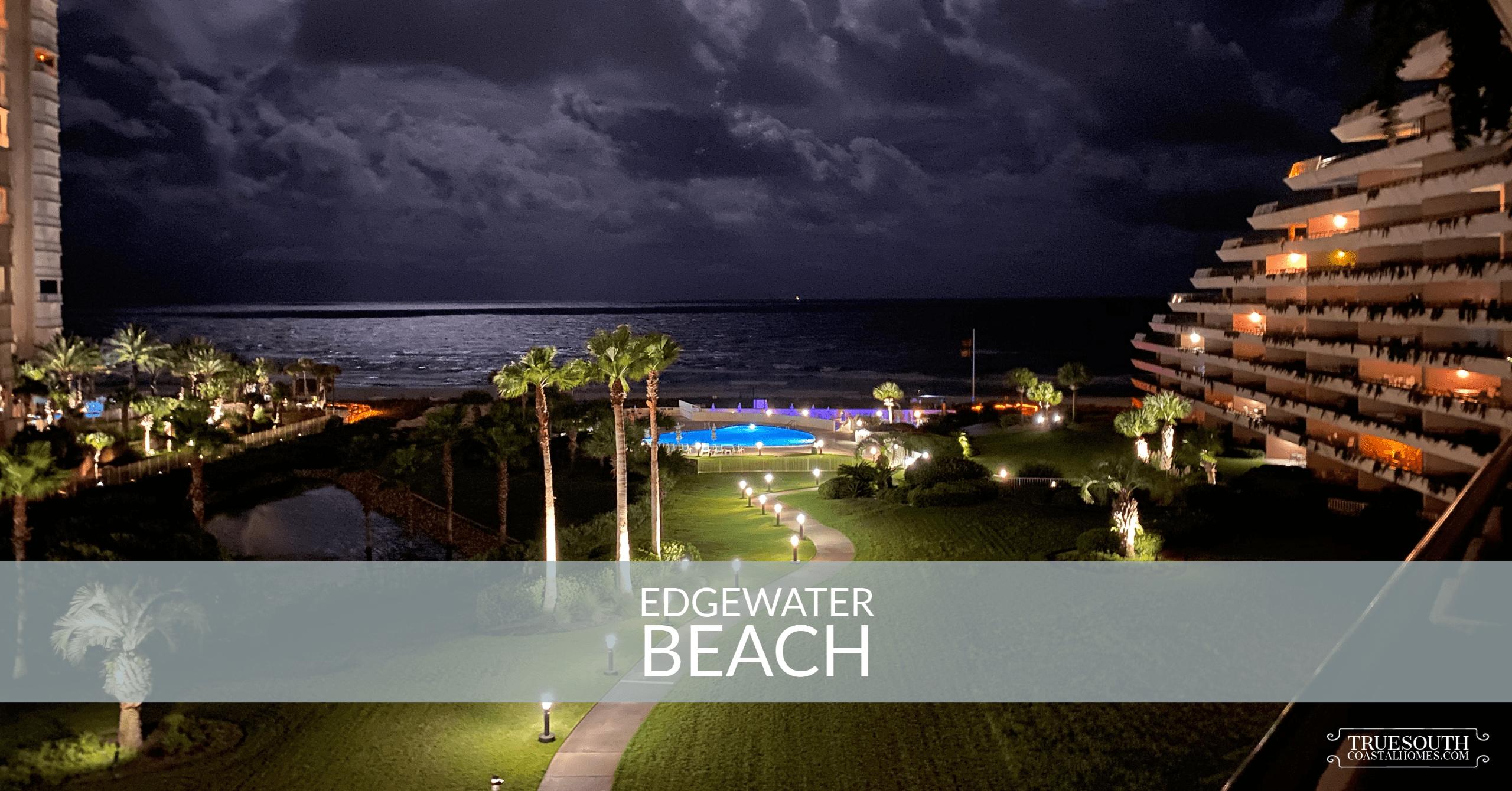 Edgewater Beach Nighttime Shot