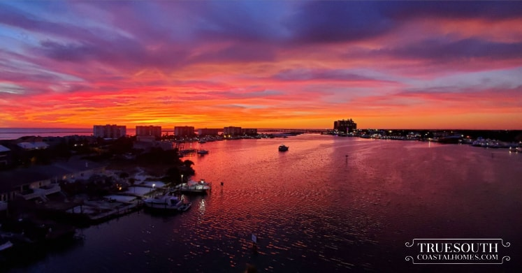 Gorgeous Holiday Isle Destin Sunset