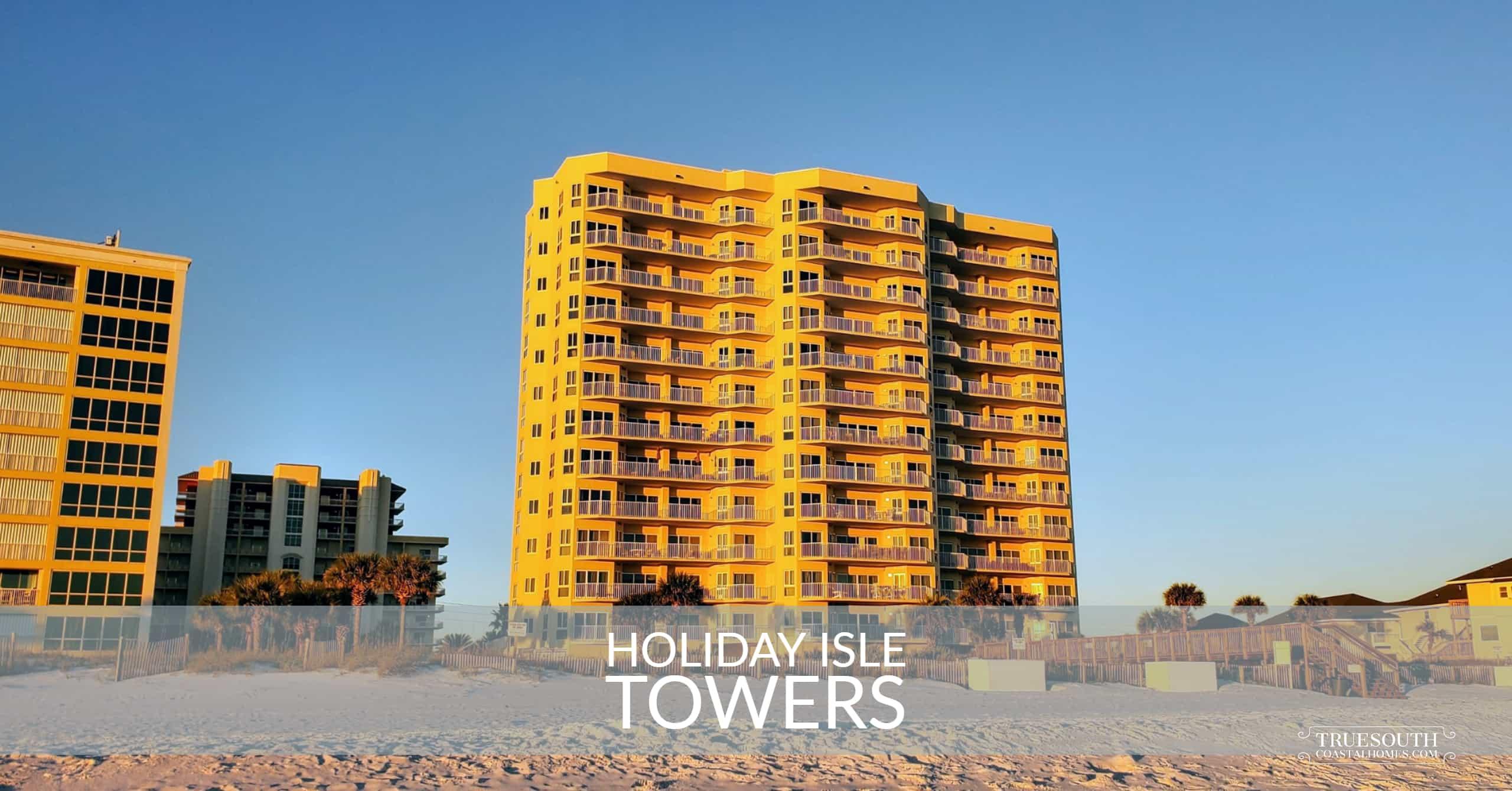 Holiday Isle Towers Elevation
