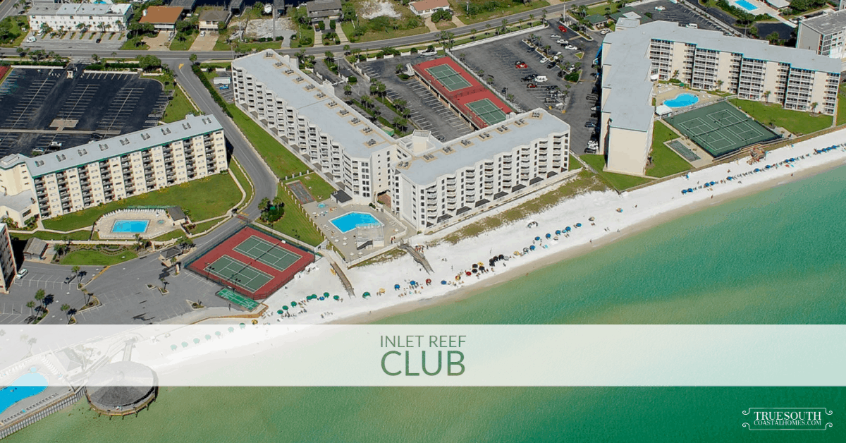 Inlet Reef Club Condo Aerial View