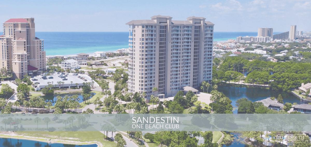 Sandestin One Beach Club Aerial View