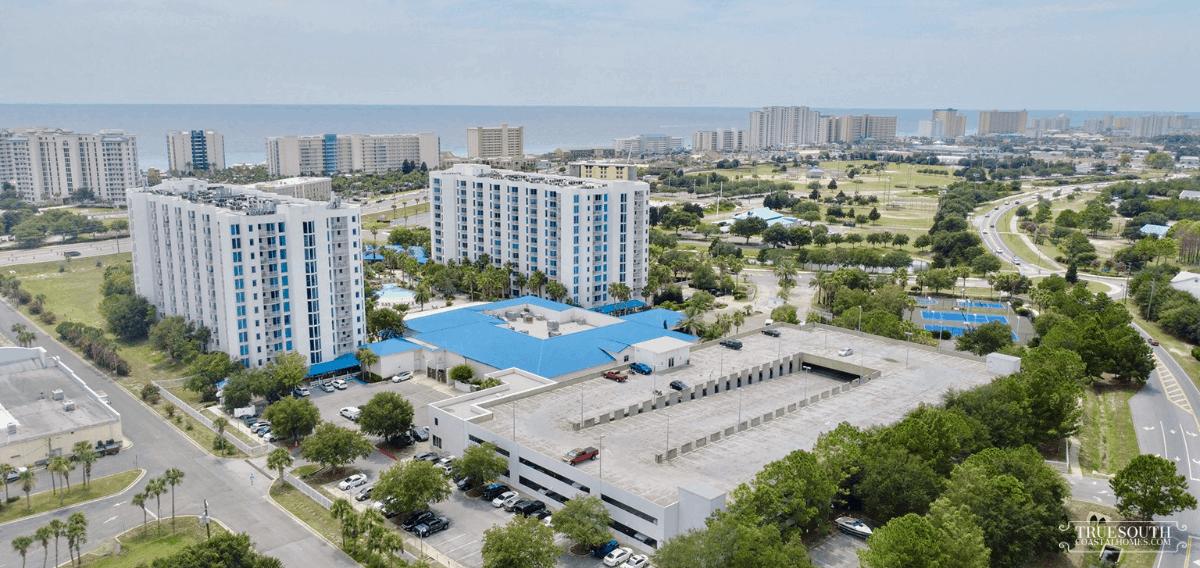 Palms of Destin Aerial View