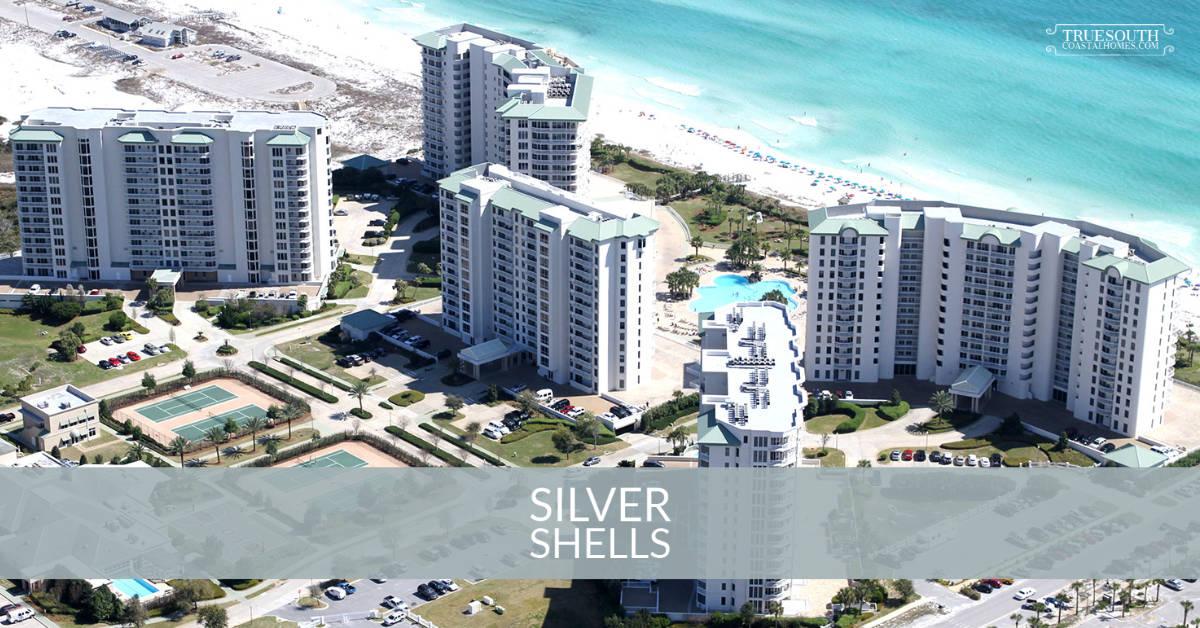 Silver Shells Condos Aerial - Destin, FL
