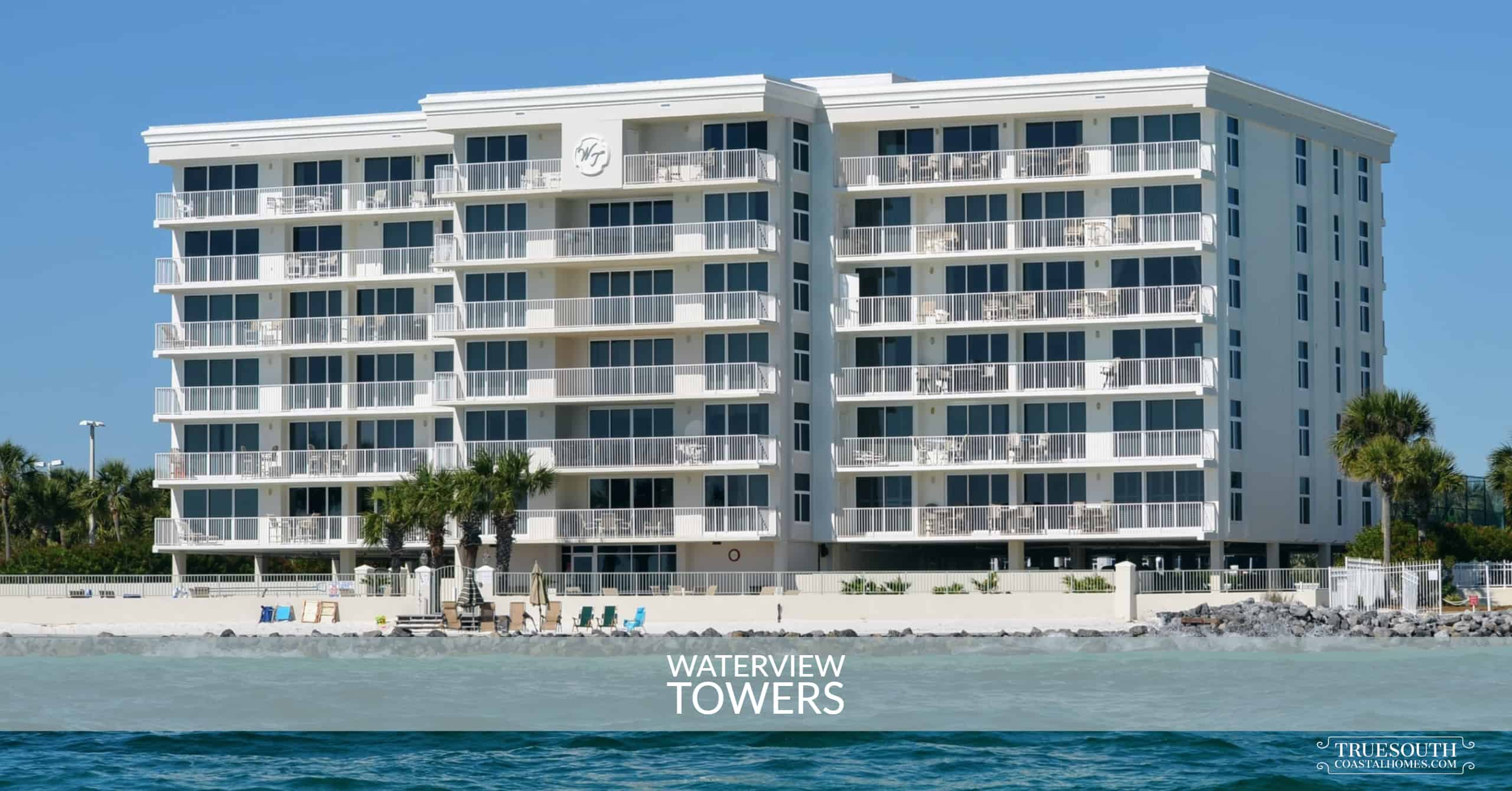 Waterview Towers Condos East Pass View