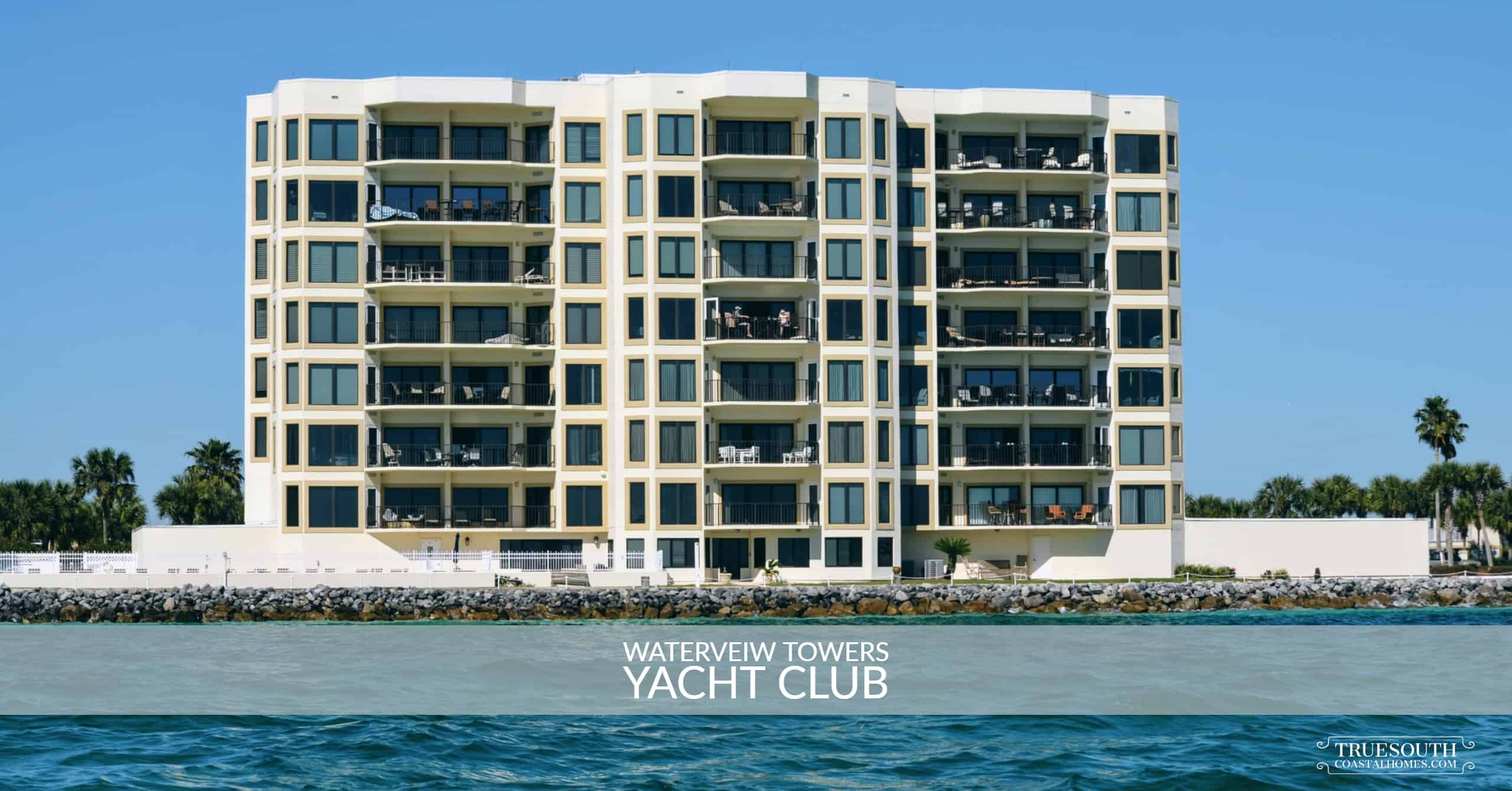Waterveiw Towers Yacht Club East Pass View