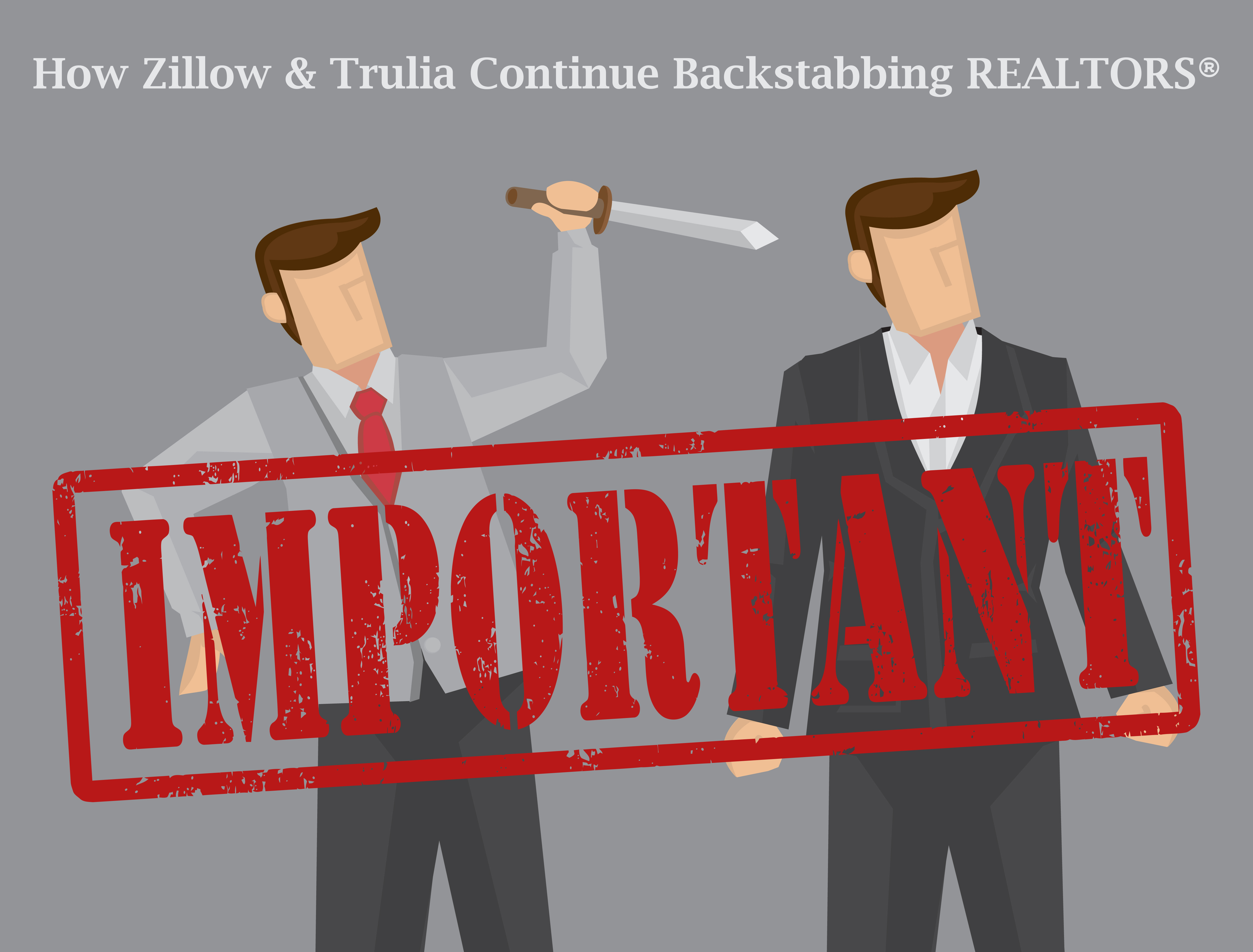 how zillow group continues backstabbing realtors