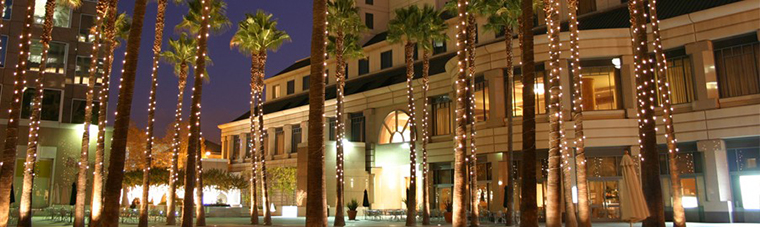 Downtown San Jose at Night