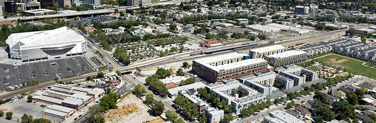 Aerial View of Midtown San Jose