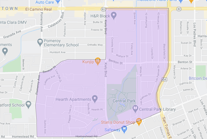 Central Park Elementary School Santa Clara Unified