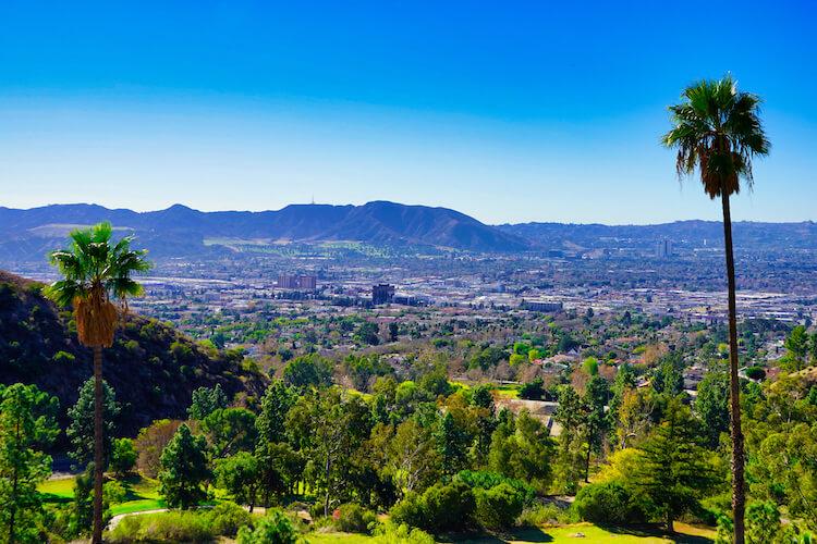 Burbank Hillside Views