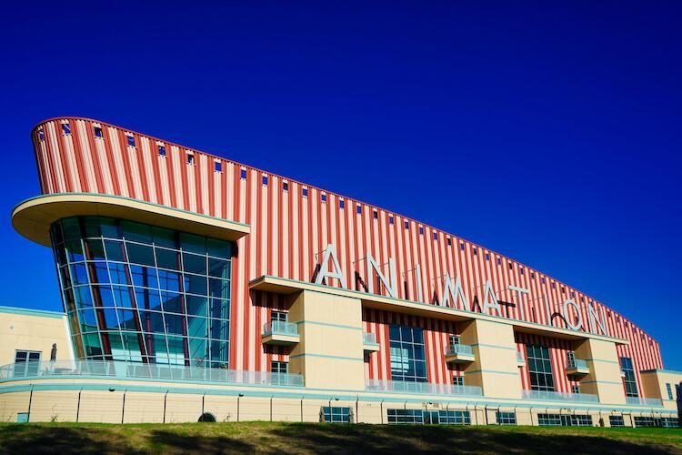 Disney Animation Building