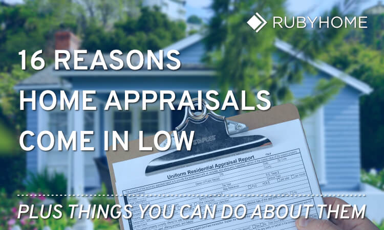 Low Real Estate Appraisals