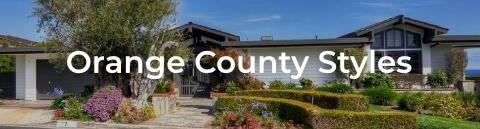 Orange County Styles of Homes