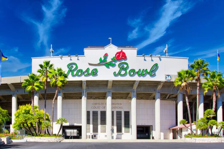 Rose Bowl Stadium Pasadena CA