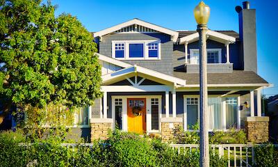 San Diego Craftsman Home