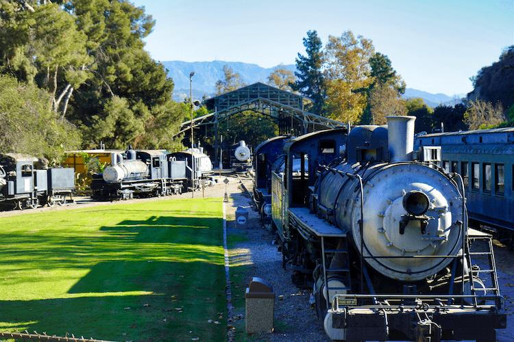 Travel Town Railroad