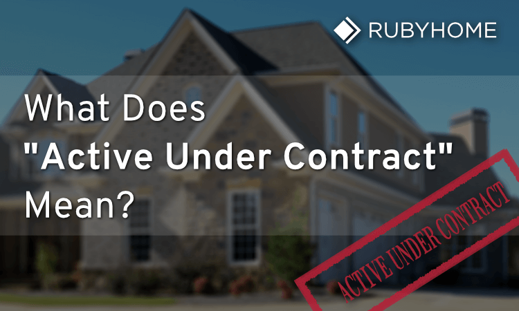 Active Under Contract Property Status