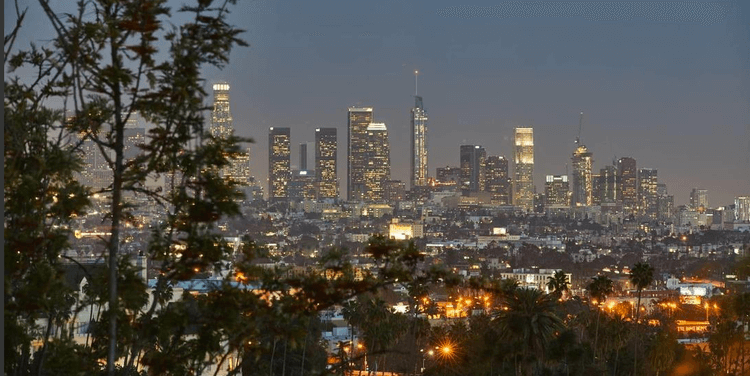 DTLA from Beachwood Canyon