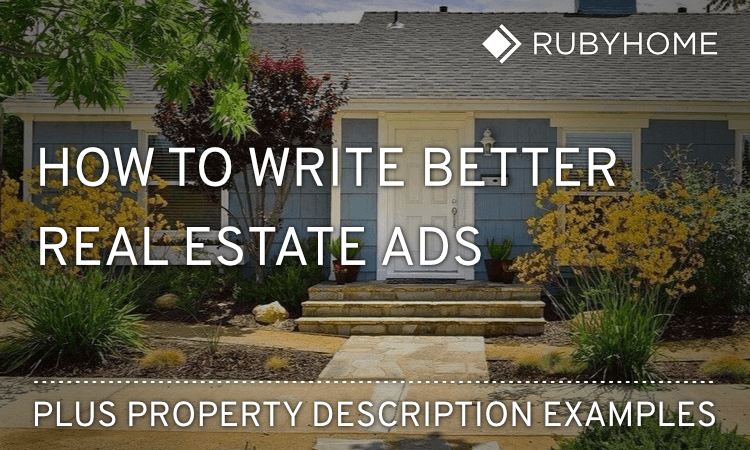 property listing description examples