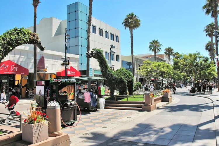 Third Street Promenade Santa Monica