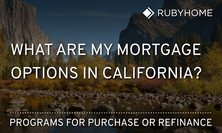 California Mortgage Programs