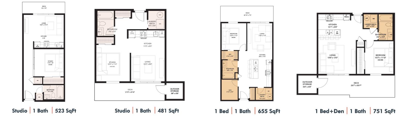 Cawston Floor Plans