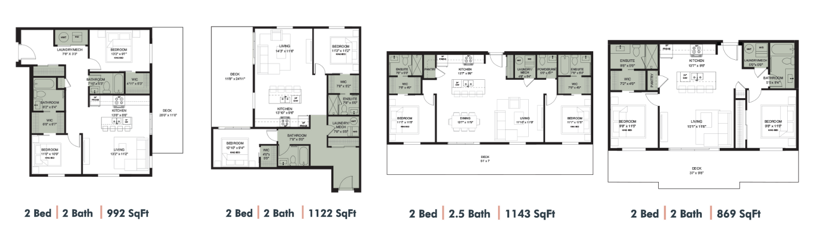 Cawston Floor Plans 2
