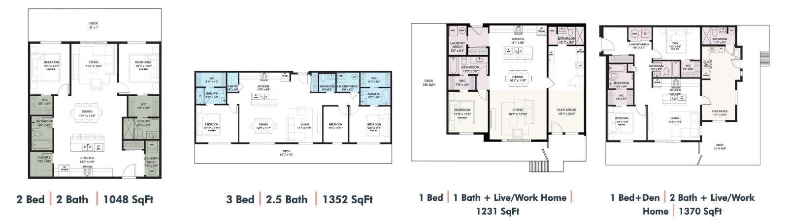 Cawston Condo Floor Plans 3