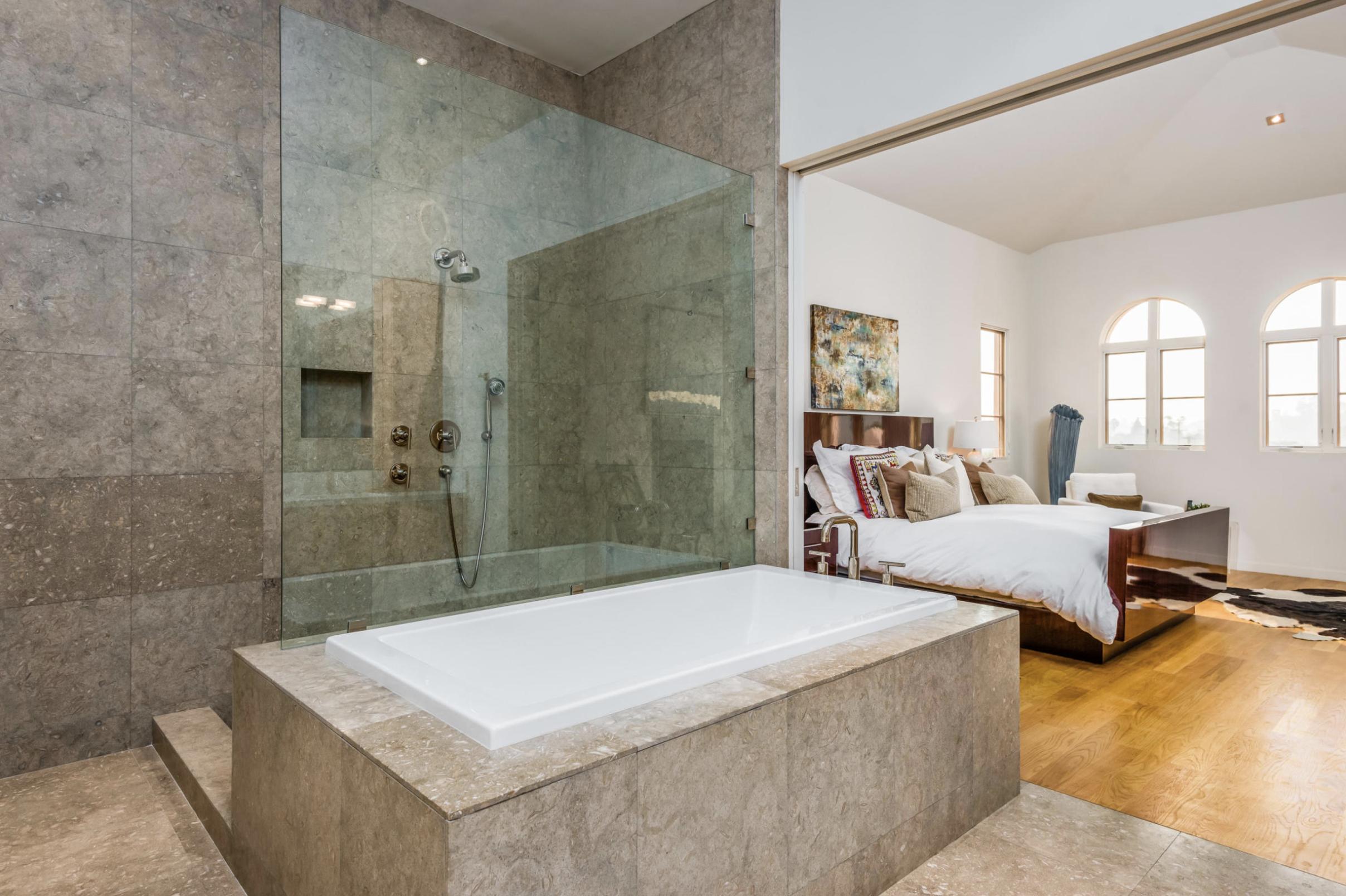 Master Bath Bed