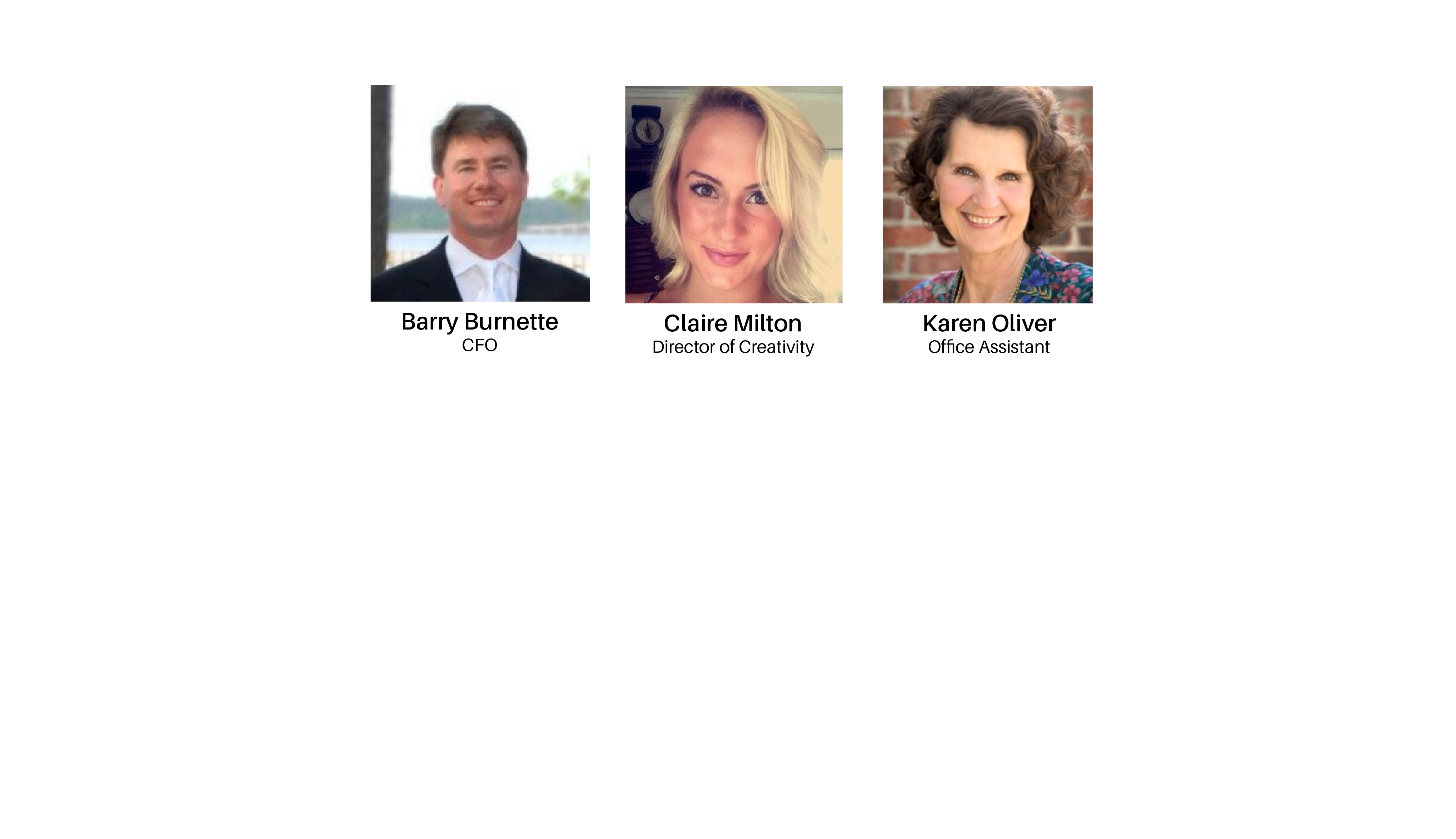 Triangle Real Estate Group Admin Staff