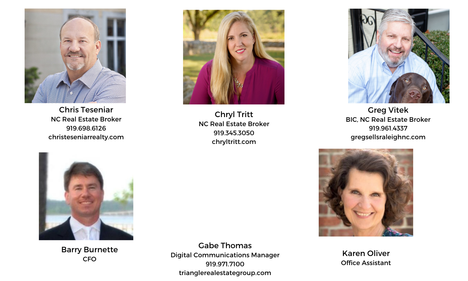 Triangle Real Estate Group Real Estate Agents