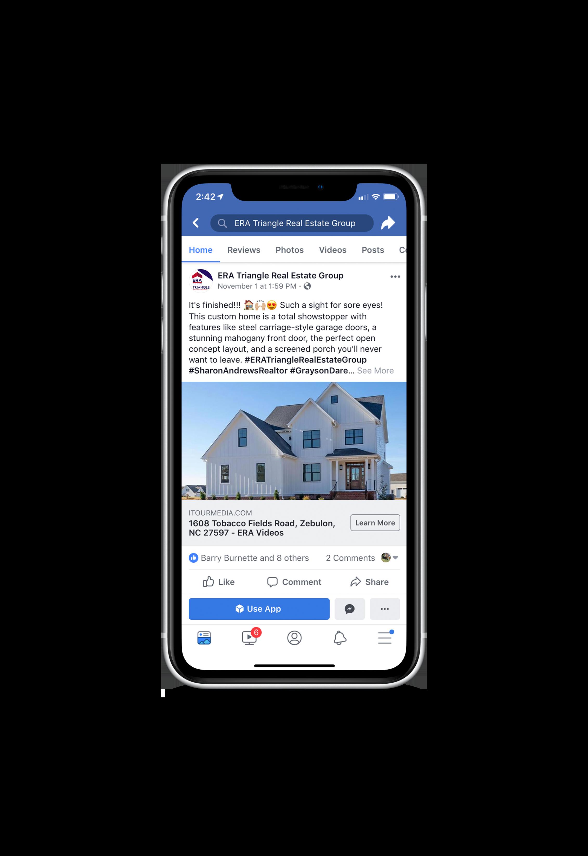 ERA Triangle Real Estate Group Social Media