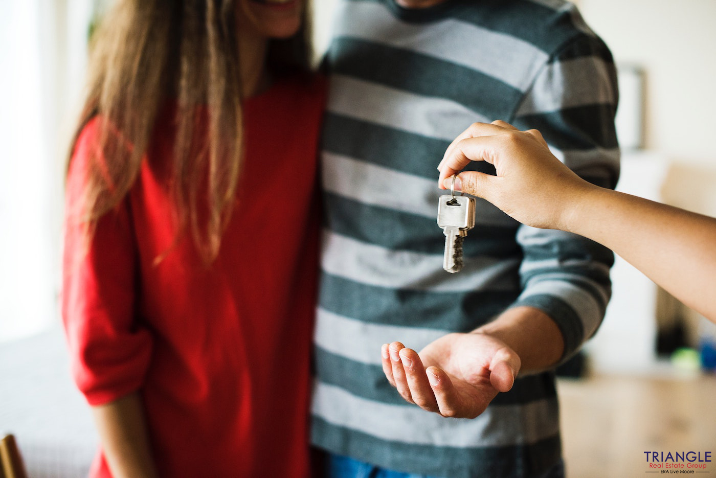 buyers purchasing home