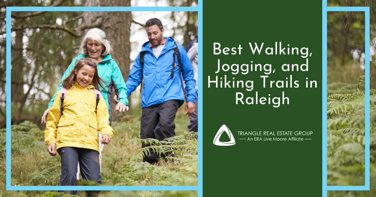 Best Walking and Jogging Trails in Raleigh