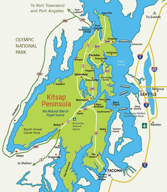 Take a Road Trip to Kitsap, if You're Considering Relocating!