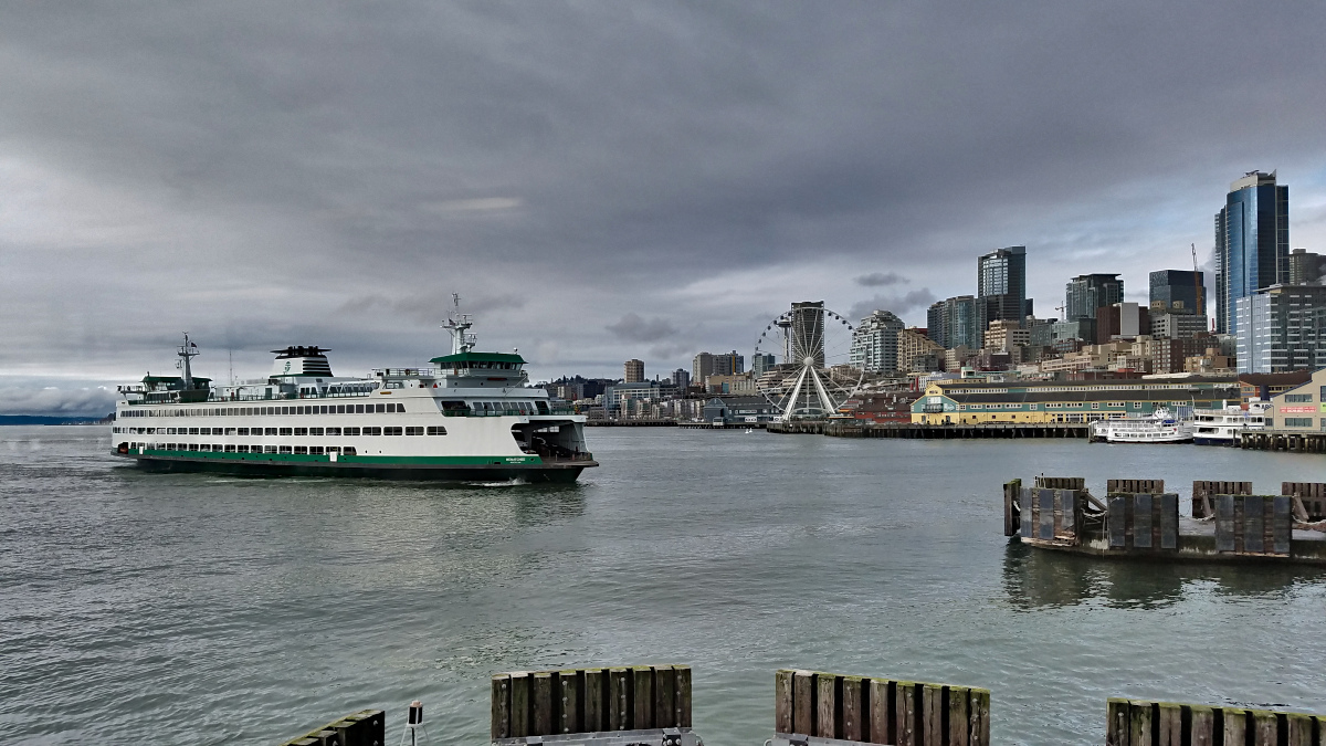 Seattle Ferry Commute to Kitsap