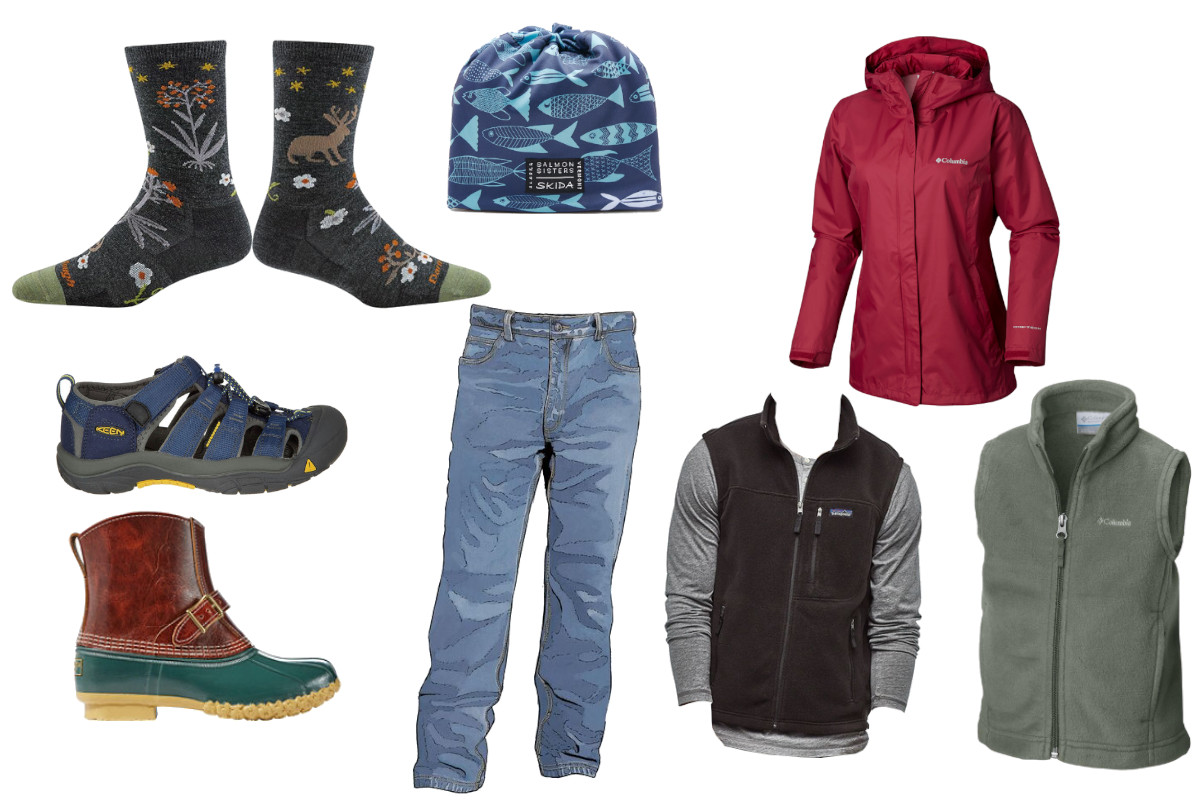 Typical Kitsap Fall Wardrobe