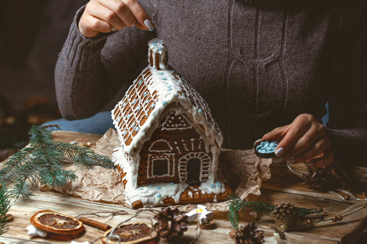 Gingerbread Dream House