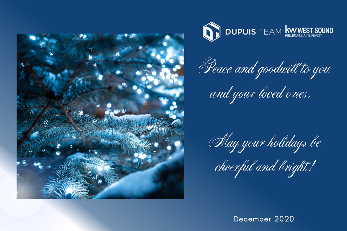 Happy Holidays to Kitsap County, from Dupuis Team Realty
