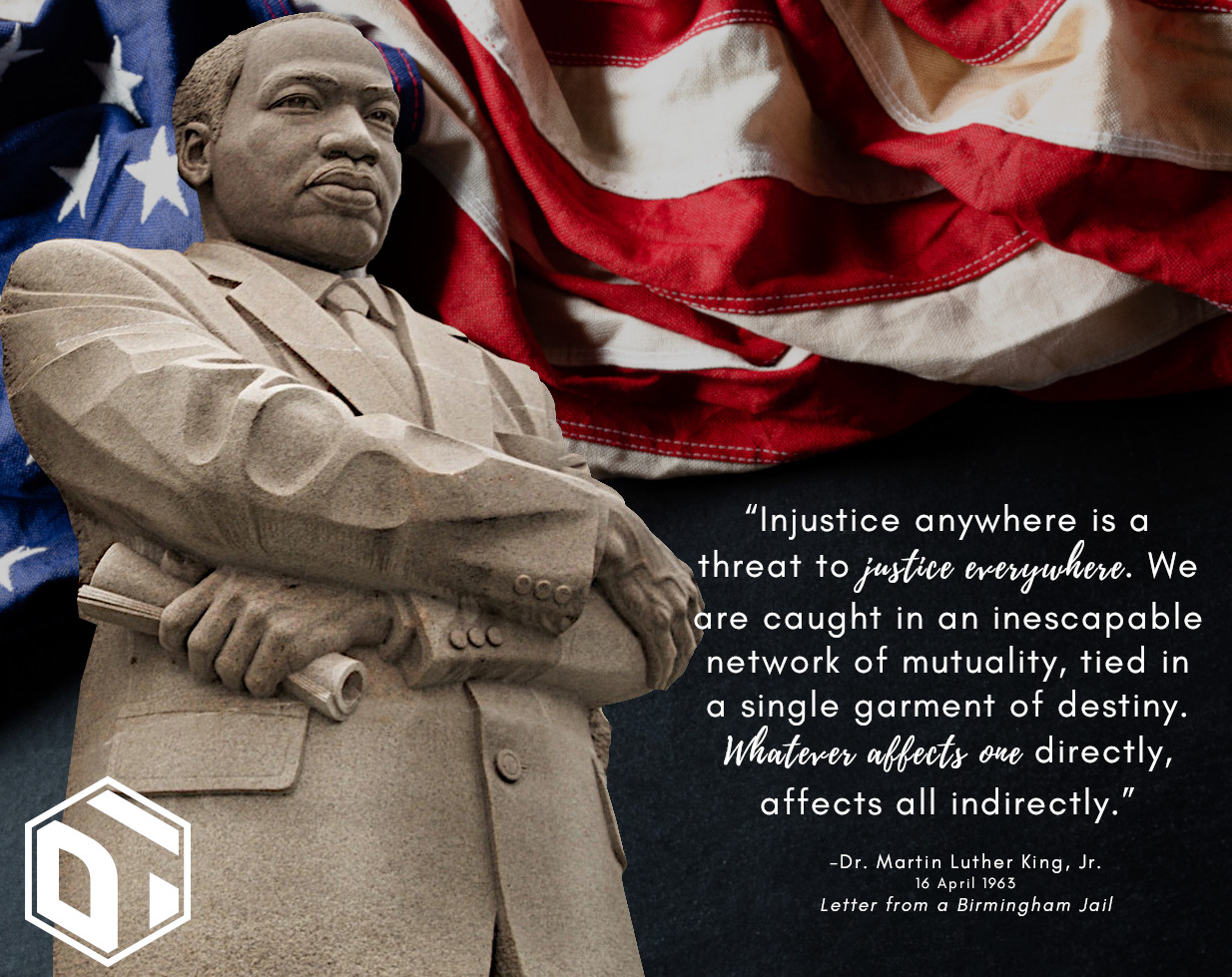 Dupuis Team Honors Dr. Martin Luther King, Jr.