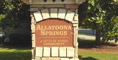 Allatoona Springs