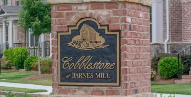 Cobblestone at Barnes Mill