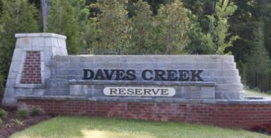 Daves Creek Reserve