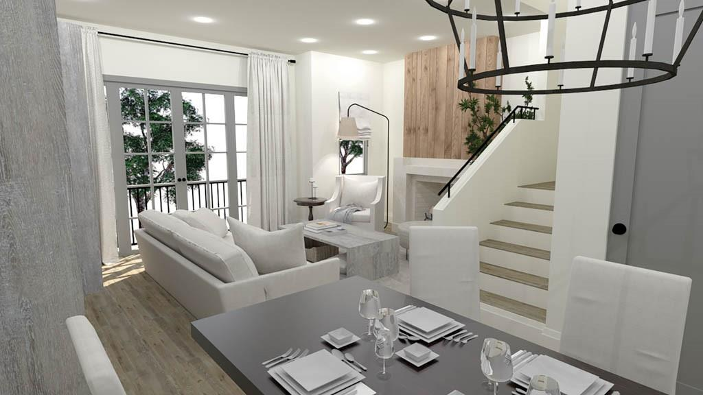 Family room rendering
