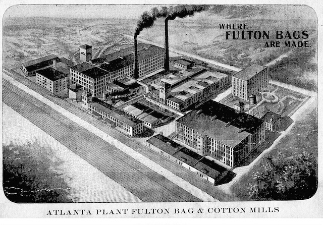 Cabbagetown's Fulton Bag Cotton Mill